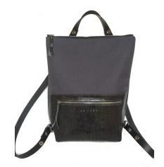 fekete-ezüst táska